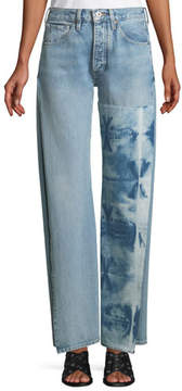 Levi's Arrow Split-Seam Straight-Leg Jeans