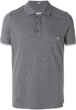 Fay classic logoed polo shirt