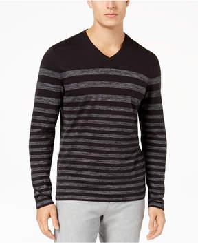 Alfani Men's Stripe T-Shirt, Created for Macy's