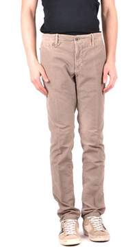 Incotex Men's Beige Cotton Pants.