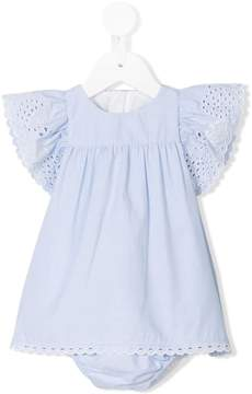 Chloé Kids ruffle-trimmed dress