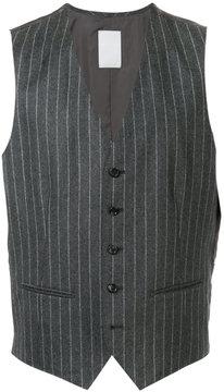 ESTNATION striped waistcoat