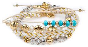 Arizona Womens 4-pc. Clear Bracelet Set