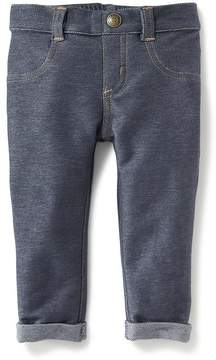 Old Navy Rolled-Cuff Jeggings for Baby