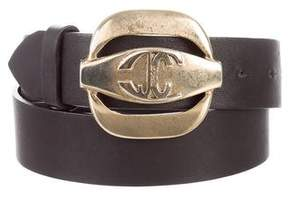 Just Cavalli Leather Waist Belt