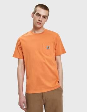 Carhartt Wip S/S Pocket T-Shirt in Jaffa