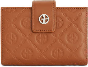 Giani Bernini Logo Embossed Frame Wallet, Created for Macy's