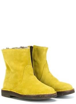 Pépé furry lining boots