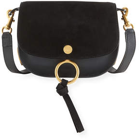 Chloé Mixed Leather Shoulder Bag
