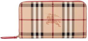 Burberry Elmore Leather Wallet - RED - STYLE