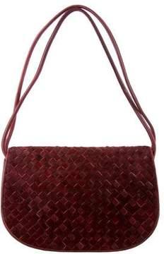 Bottega Veneta Ponyhair Intrecciato Shoulder Bag