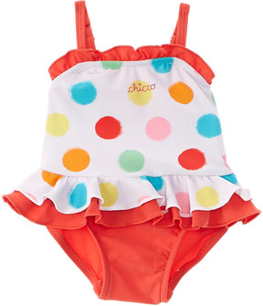 Chicco Girls' White One-Piece Swimsuit