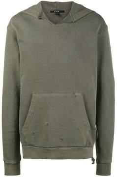 Ksubi Caring Damaged hoodie
