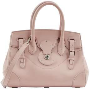 Ralph Lauren Pink Leather Handbag