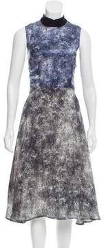 Rodarte Silk Printed Dress