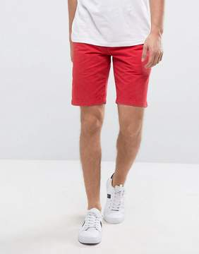 Jack Wills NewBiggin Chino Shorts in Washed Red