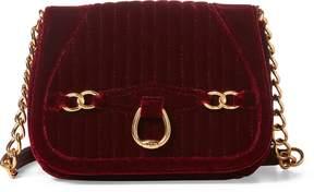 Ralph Lauren Velvet Crossbody Bag