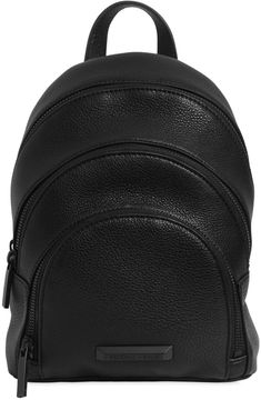 Mini Sloane Pebbled Leather Backpack