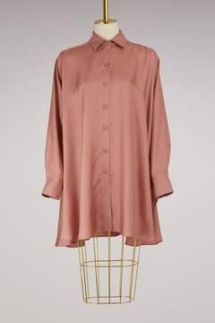 Forte Forte Long silk shirt