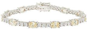 Elizabeth Taylor The Simulated Canary Diamond Tennis Bracelet