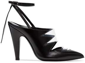 Calvin Klein Kai 105 cutout leather pumps