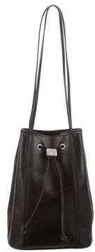 Mark Cross Leather Bucket Bag