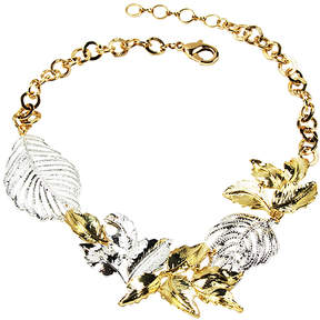 Amrita Singh Two-Tone Ezrum Bib Necklace