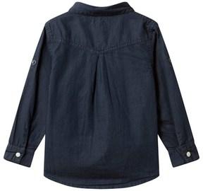 Mini A Ture Levon, K Shirt Ls Sky Captain Blue