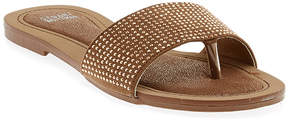 Stuart Weitzman Girls' Jet Hamatite Sandal (Youth)