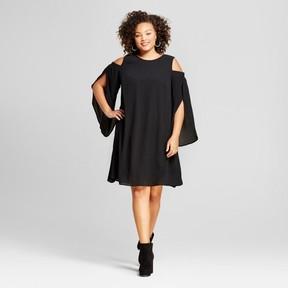 Ava & Viv Women's Plus Size Cold Shoulder Dress