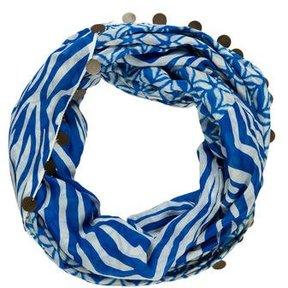 Diane von Furstenberg Silk-Blend Printed Scarf