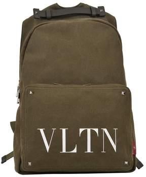 Valentino Vltn Backpack Khaki