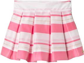 Lili Gaufrette Fuchsia Stripe Skirt