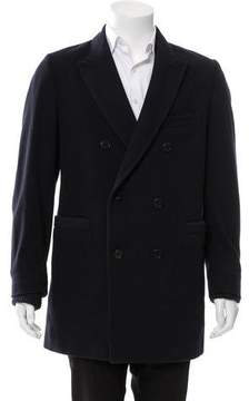 Band Of Outsiders Double-Breasted Wool Sport Coat