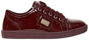 Dolce & Gabbana Patent Leather Sneakers