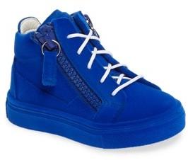 Giuseppe Zanotti Toddler Girl's Smuggy Sneaker