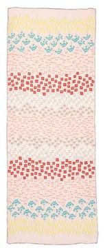 Valentino Women's Flower Rows Silk Scarf