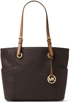 MICHAEL Michael Kors Jet Set Signature Tote - BROWN - STYLE