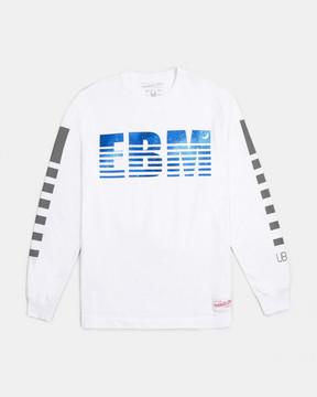 Ubiq M&N x x Wale EBM Long Sleeve Tee (White)