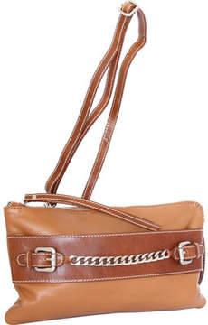 Nino Bossi Clarisse Leather Convertible Clutch (Women's)