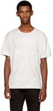 The Viridi-anne Off-White Double Pocket T-Shirt
