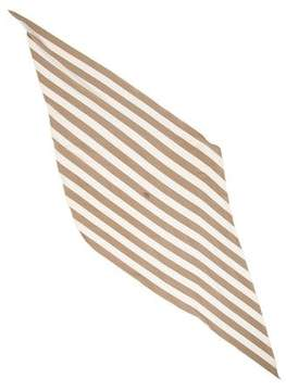Hermes Silk Jersey Maxi Pointe Scarf