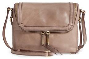 Hobo Alibi Calfskin Leather Crossbody Bag - Grey