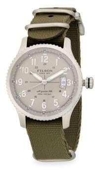 Filson Mackinaw Field Stainless Steel Strap Watch