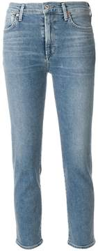 Citizens of Humanity five pocket cropped jeans