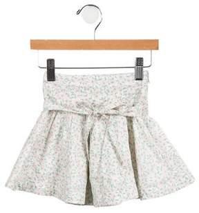 Little Marc Jacobs Girls' Floral A-Line Skirt