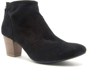 Qupid Black Rix Ankle Boot - Women