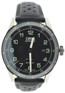 Oris Artix GT Day Date Calobra 7706 Stainless Steel & Leather 44mm Mens Watch
