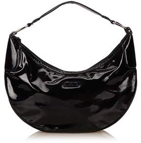 Gucci Pre-owned: Patent Leather Shoulder Bag. - BLACK - STYLE