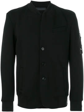 Diesel Black Gold fitted curved bomber jacket